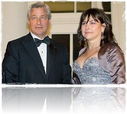 Jamie Dimon wife Judith Kent Dimon