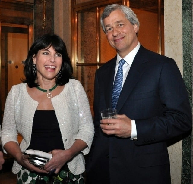 J.p. Morgan Ceo Wife An error occurred