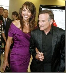 Susan Schneider- Actor Robin Williams' Wife