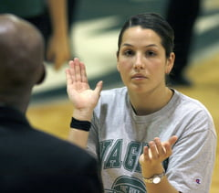 Megan Mahoney: Wagner College Basketball Player/ Moore Catholic High School Coach