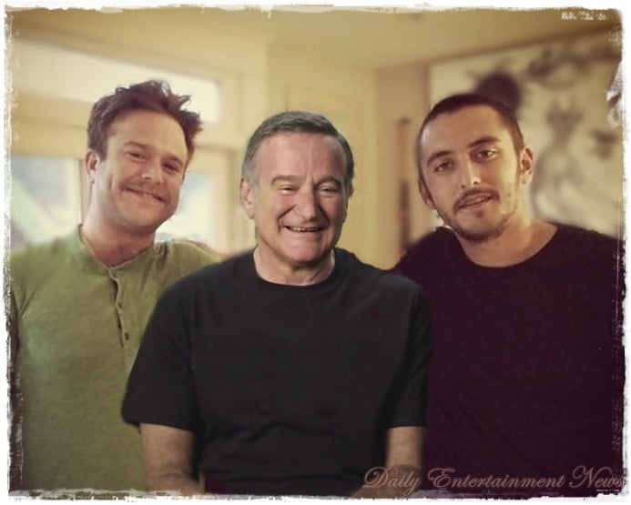 Robin Williams sons