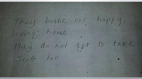 Scott Rogers Richard Hodgkinson suicide note