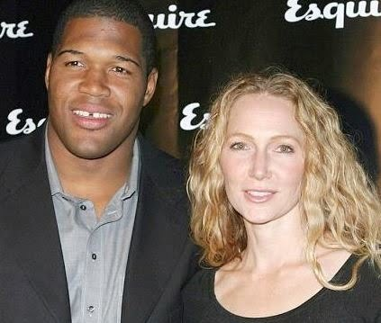 Who does michael strahan date in Sydney