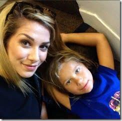 Allison Holker daughter Weslie Fowler