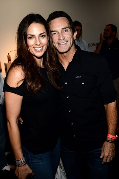 Shelly Wright And Jeff Probst