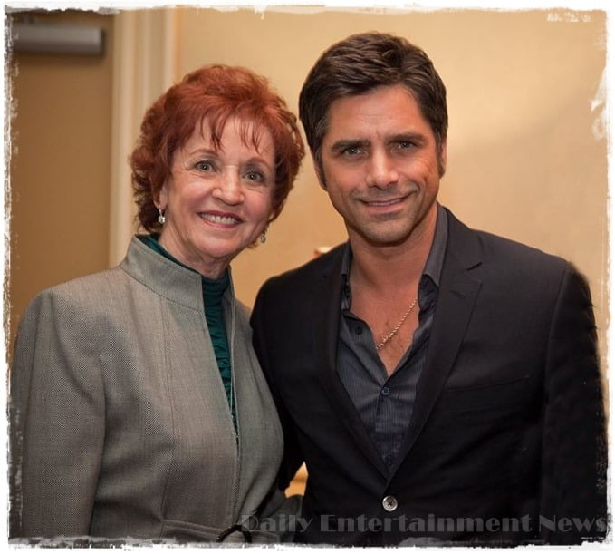 Photo of John Stamos & his  Mother  Loretta Phillips
