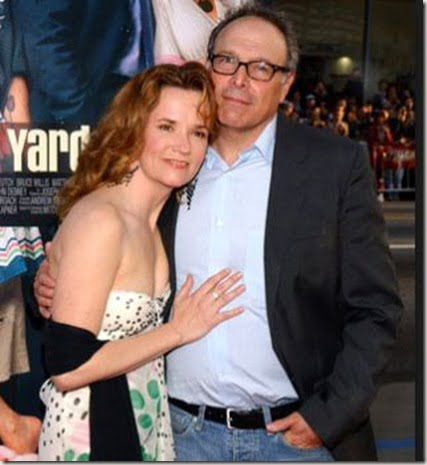 Lea Thompson and husband