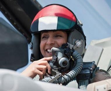 Major Mariam Al Mansouri: First Female Air Force Pilot