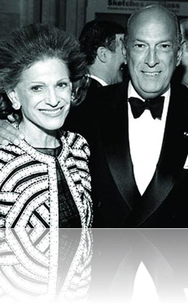Oscar de la Renta wife Annette de la Renta
