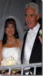 charlie crist carole crist wedding picture