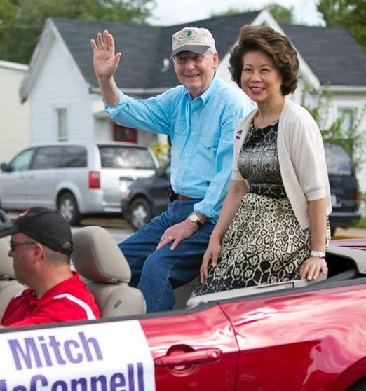 Meet  Mitch McConnell's Wife Elaine Chao