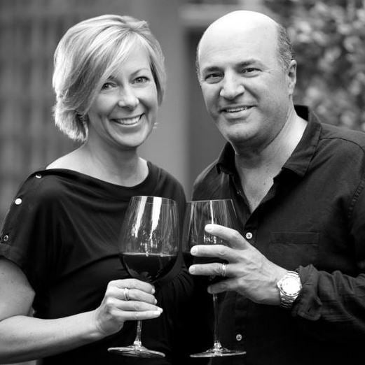 Kevin O'Leary with Wife Linda O
