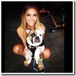 April Love Geary Robin Thicke Girlfriend photo