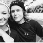 Makenzie Jauer Ryan Knight Girlfriend 2014-picture