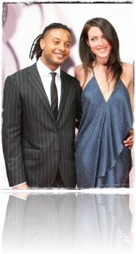 Brandon Jay McLaren wife Mieka Tennant