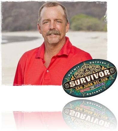 Keith Nale Survivor san juan