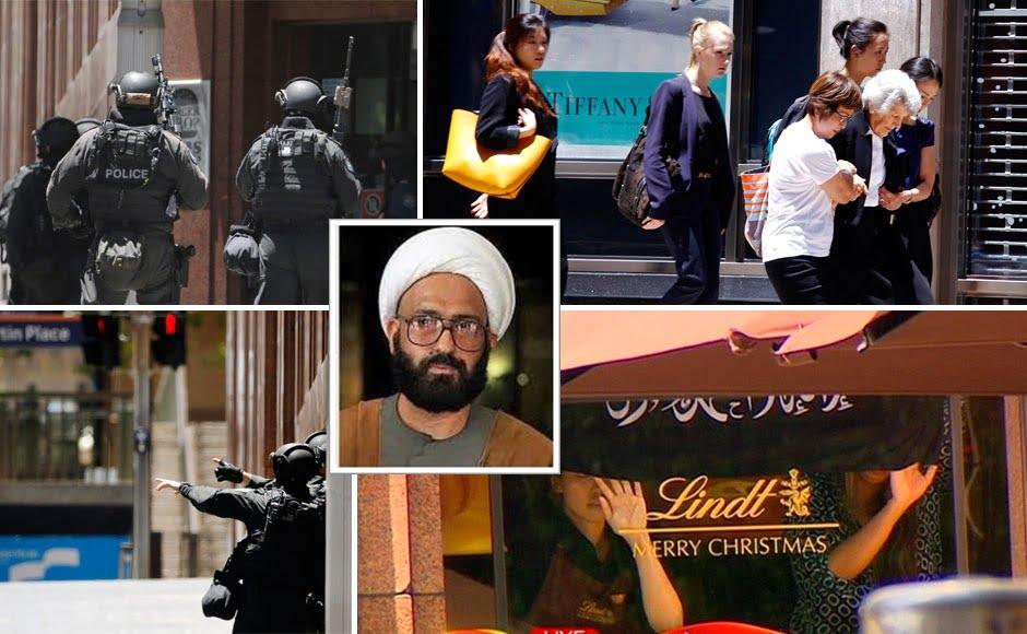 Man Haron Monis Sydney Hostages