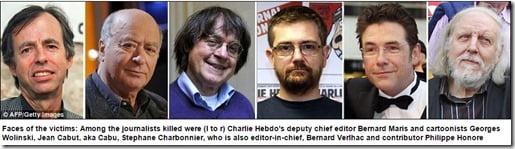 Charlie Hebdo victims