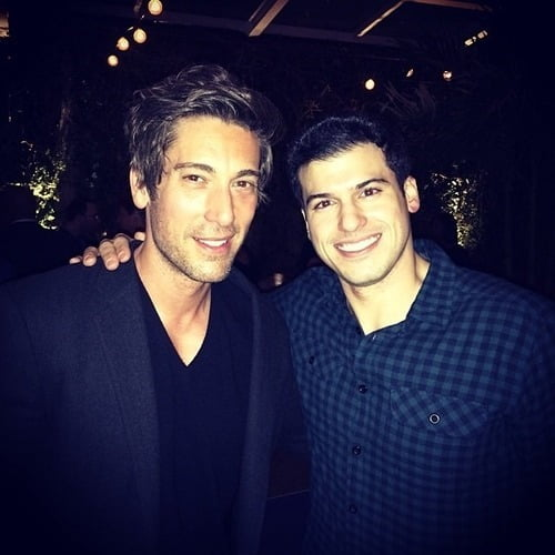 Rumored Gay couple: David Muir and Gio Benitez