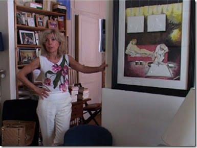 George  Wolinski wife Maryse  Wolinski pic