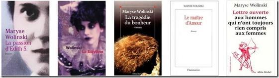 Maryse  Wolinski books pics