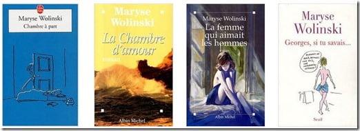 Maryse  Wolinski books