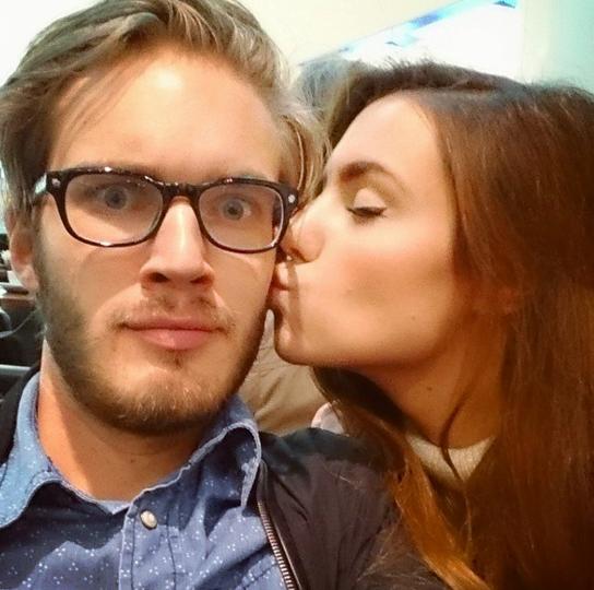 Marzia Bisognin: King Of YouTube Felix Kjellberg's ...