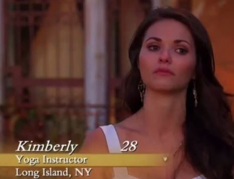 Kimberly Sherbach: Yoga instructor/ The Bachelor ...