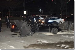 Bob Simon Car crash pic