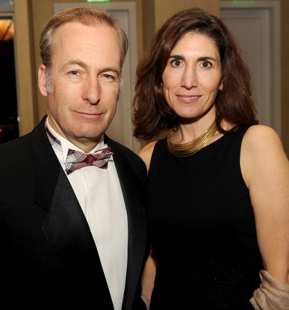 Bob Odenkirk and wife