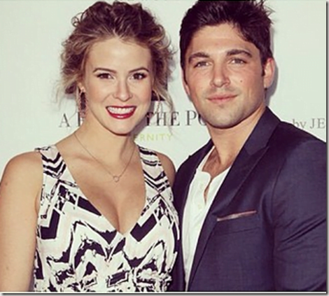 Robert Adamson: Actress Linsey Godfrey's fiance