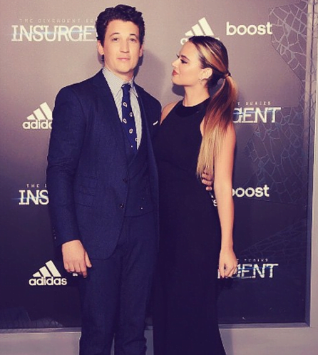 Keleigh Sperry: actor miles teller's girlfriend