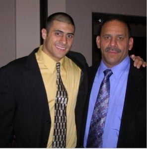 Former New England Patriots player Aaron Hernandez is the son of Terri Hernandez and the late Dennis Hernandez @dailyentertainmentnews
