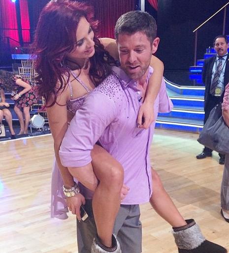Paul Kirkland: Ballroom dancer Sharna Burgess' Boyfriend ...  Sharna