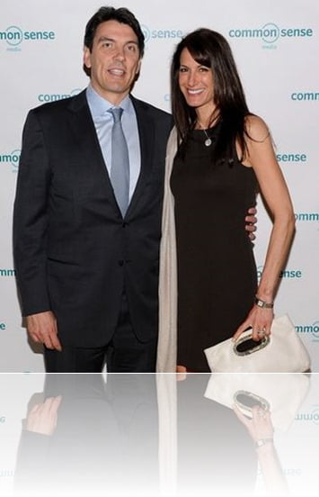 AOl Tim Armstrong wife Nancy Armstrong