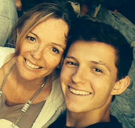 Nicola Frost and Dominic Holland: Spider man Tom Holland's ...