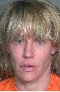 Amanda Peterson 2012 arrest mugshot
