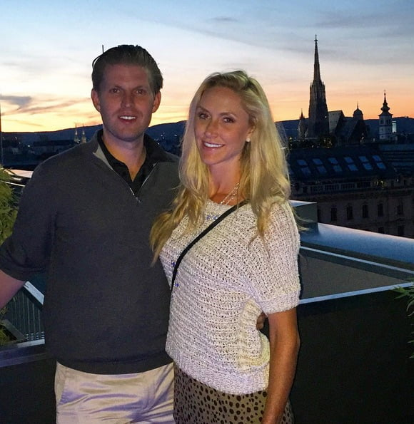 how old is eric trump wife