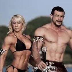 Alex Paez & Milagros Cowan Miami Bodybuilders