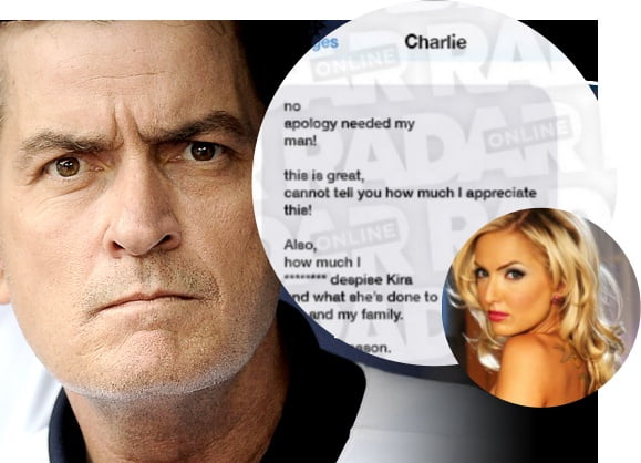 Taylor tilden Kira montgomery Charlie Sheen