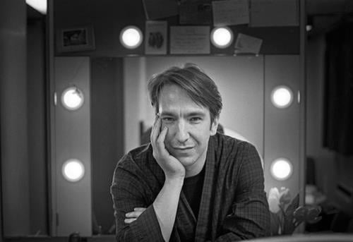 Alan Rickman young pic