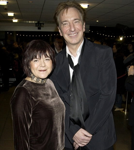 Alan Rickman's wife Rima Horton (Bio, Wiki)