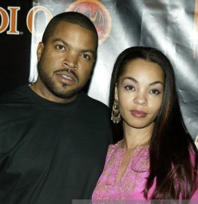 How did ice cube meet his wife