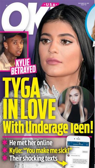 Molly O'Malia Tyga's Teen model Texting Affair