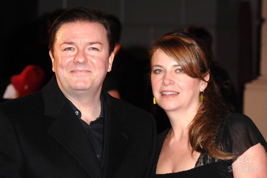 Ricky Gervais Girlfriend Jane Fallon Bio Wiki