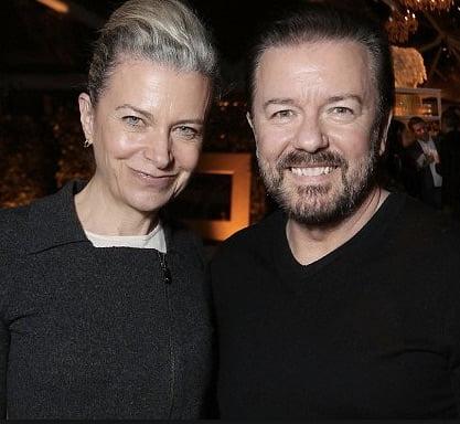 Ricky Gervais girlfriend Jane Fallon