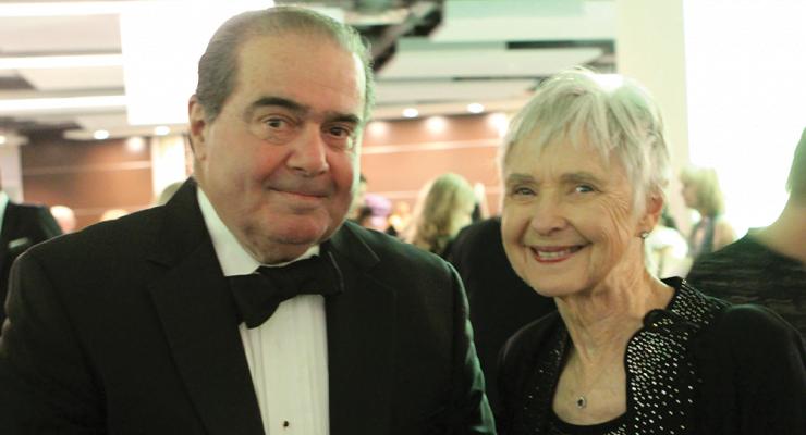 Antonin Scalia wife Maureen McCarthy Scalia