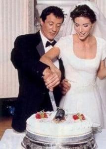 Jennifer Flavin sylvester stallone wedding