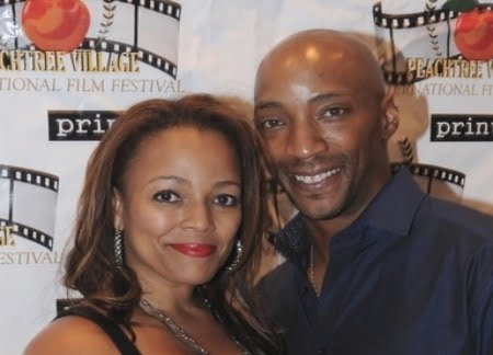 Kim Fields husband Christopher Morgan