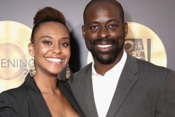 Sterling K. Brown with Wife Ryan Michelle Bathe